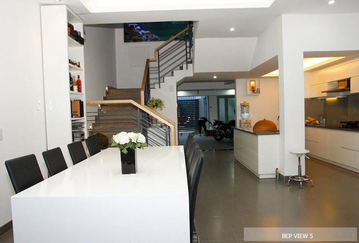 thiết kế phòng ăn gia đình đẹp