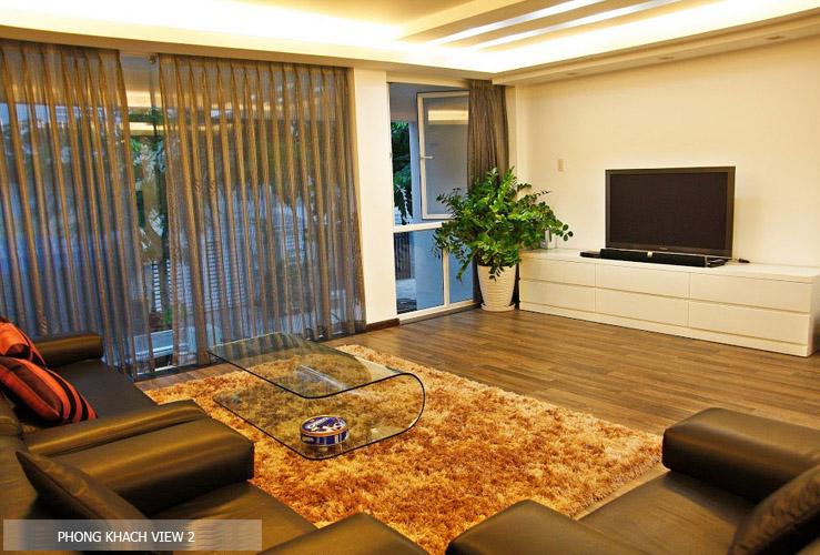 phòng khách nhà phố đẹp