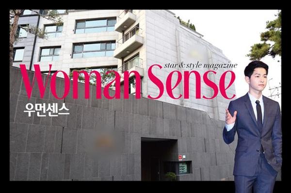 Biệt thự của Song Joong Ki và Nhà ở được hé lộ