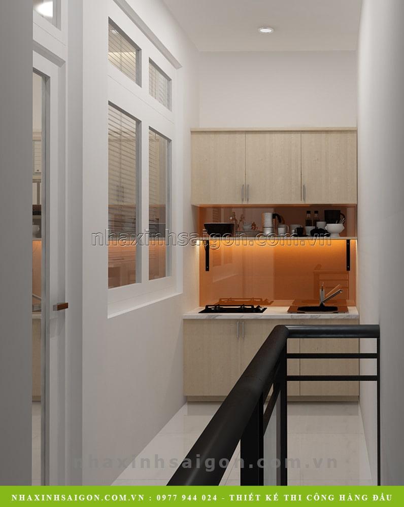 mẫu bếp nhỏ đẹp, nội thất