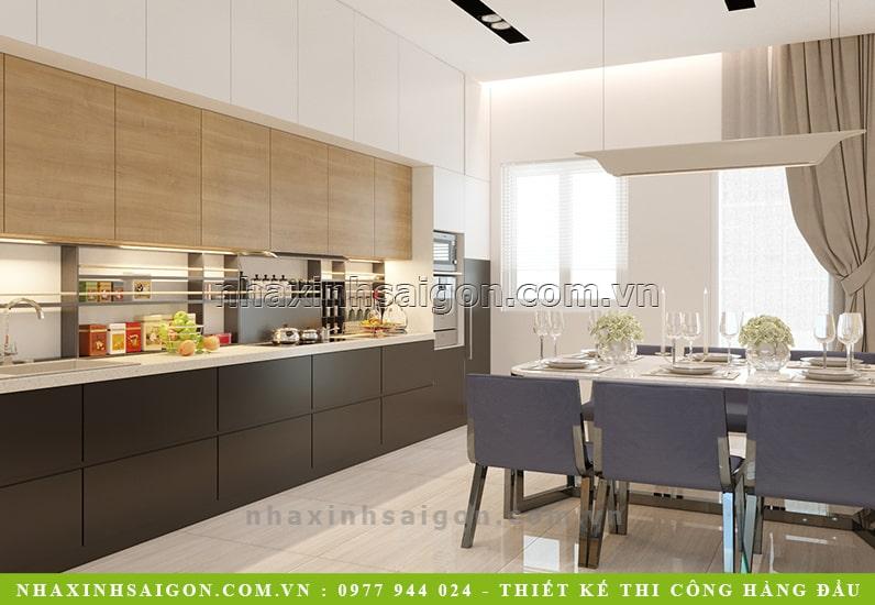 mẫu nhà bếp đẹp, thiết kế nội thất