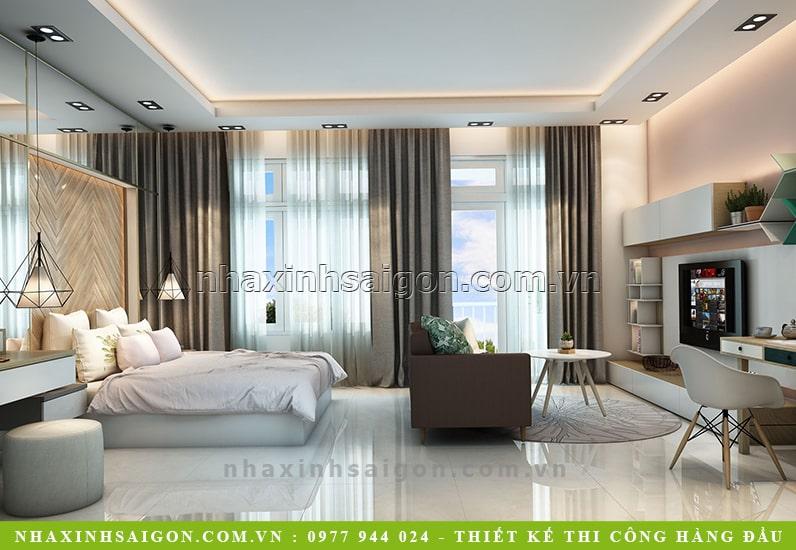 mẫu nội thất phòng ngủ hiện đại