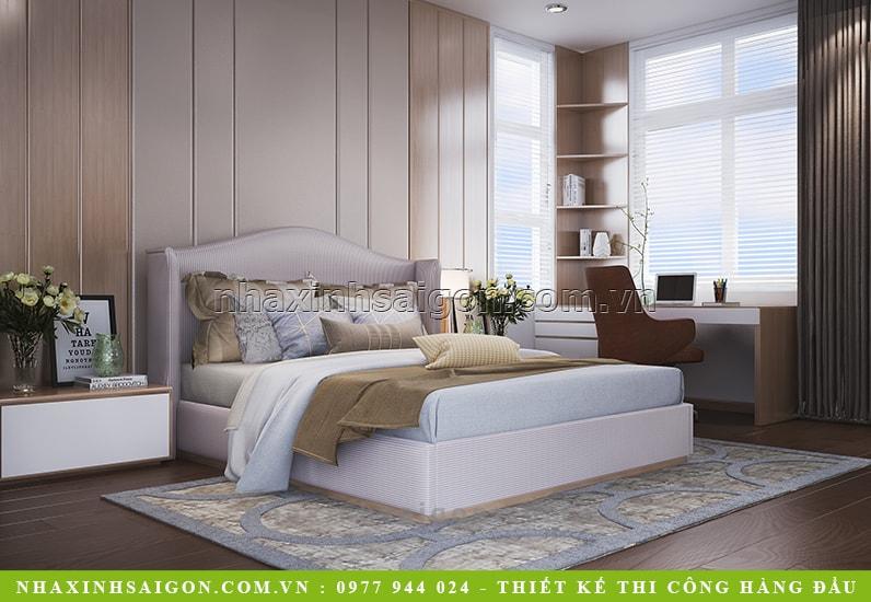 thiết kế phòng ngủ master, nội thất nhà xinh