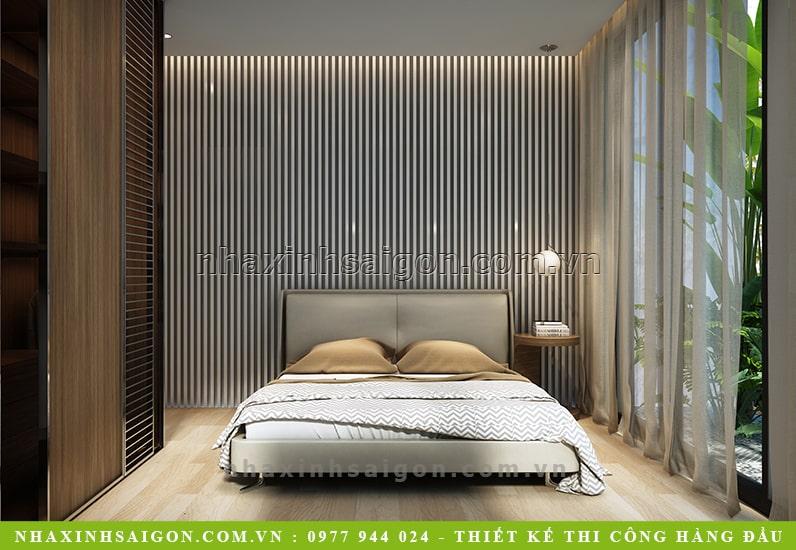 mẫu phòng ngủ nội thất gỗ