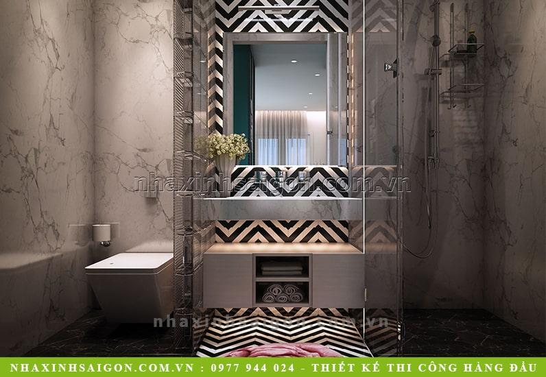 mẫu phòng tắm hiện đại, thiết kế nội thất