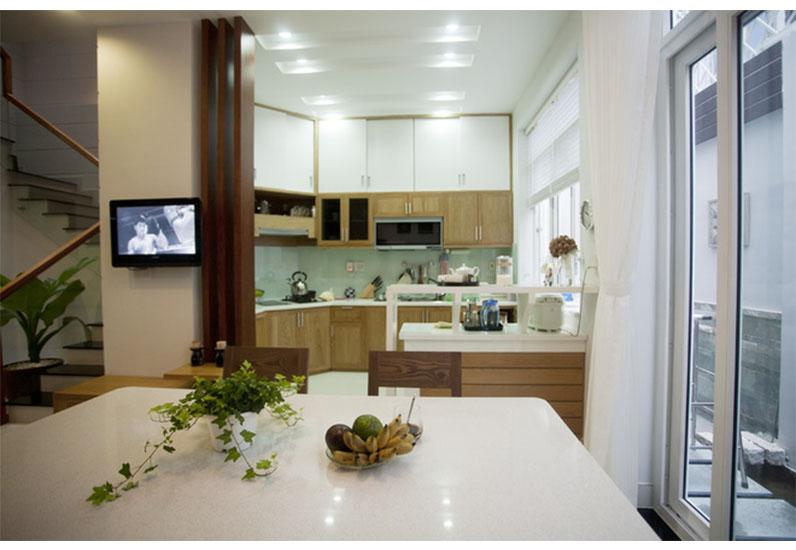 nội thất phòng bếp ăn, nhà đẹp