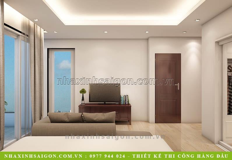 nội thất phòng ngủ hiện đại, thiết kế nhà