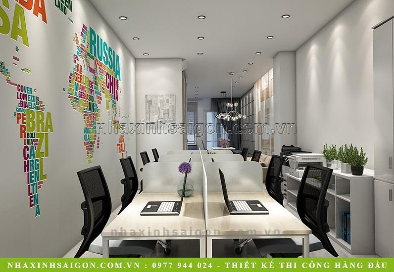 thiết kế nội thất phòng làm việc, mẫu nội thất
