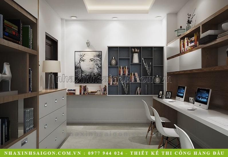 thiết kế nội thất phòng làm việc, nội thất hiện đại