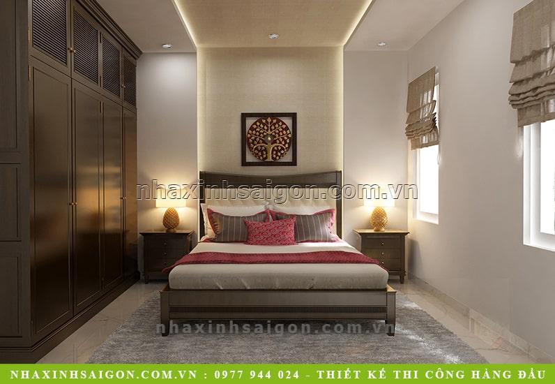 thiết kế phòng ngủ đẹp, nhà xinh sài gòn
