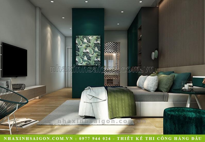 mẫu nội thất phòng ngủ đẹp, nội thất nhà xinh