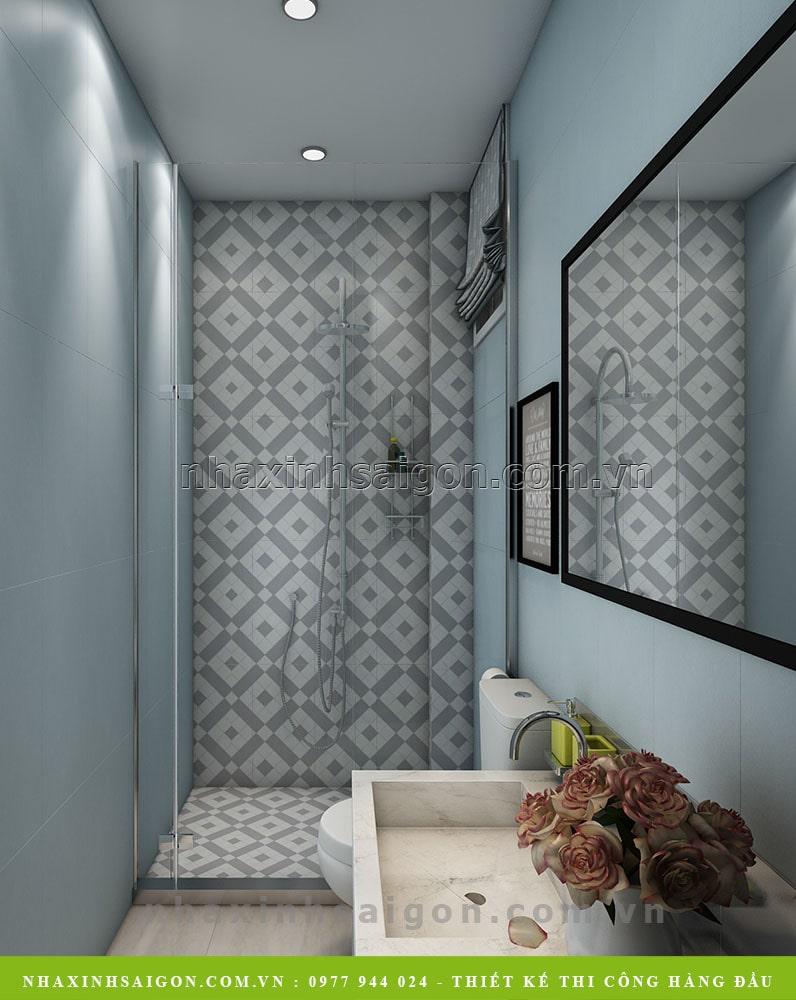 nội thất phòng vệ sinh, thiết kế nhà