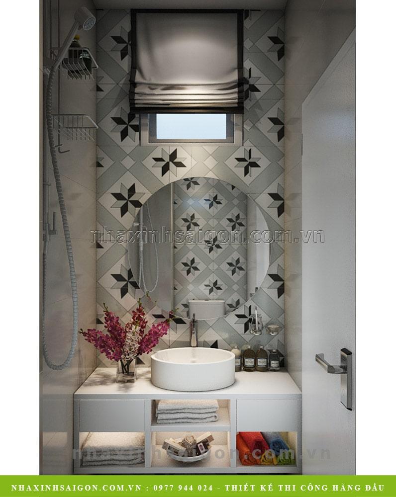 nội thất phòng vệ sinh đẹp, công ty nhà xinh