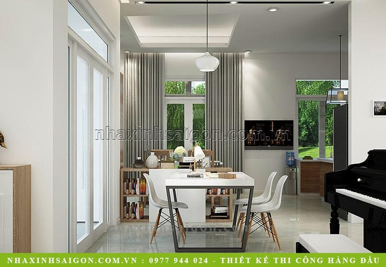 phòng ăn hiện đại, nội thất đẹp