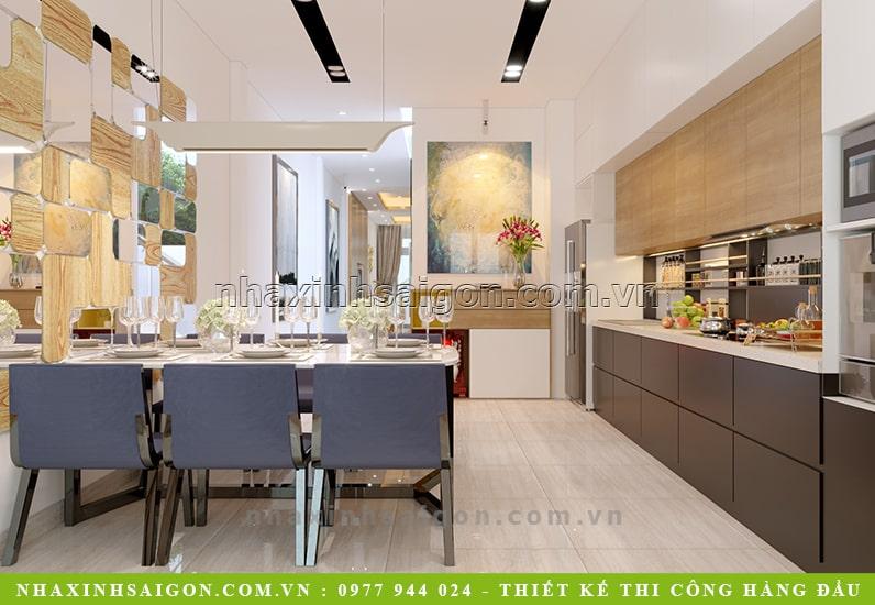 phòng bếp ăn hiện đại, thiết kế nội thất đẹp