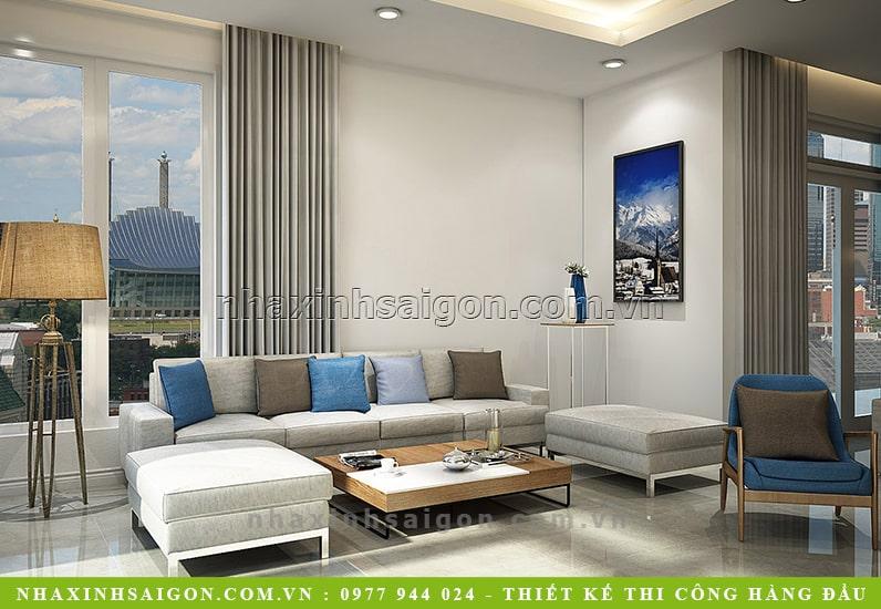 mẫu phòng khách đẹp, nội thất nhà xinh