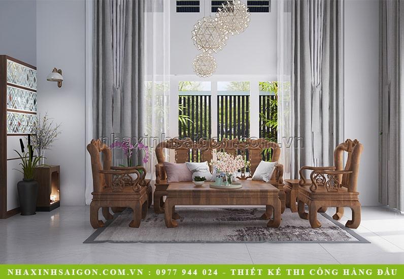 nội thất phòng khách đẹp, biệt thự hiện đại