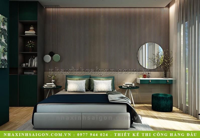 nội thất phòng master đẹp, thiết kế nội thất
