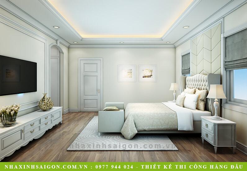 thiết kế phòng ngủ cổ điển, kiến trúc nhà xinh