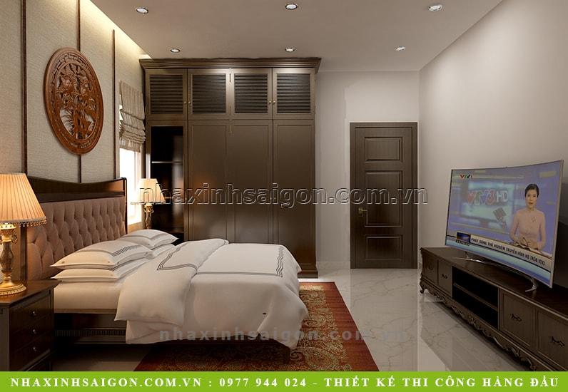 thiết kế nội thất phòng ngủ con trai, mẫu nội thất