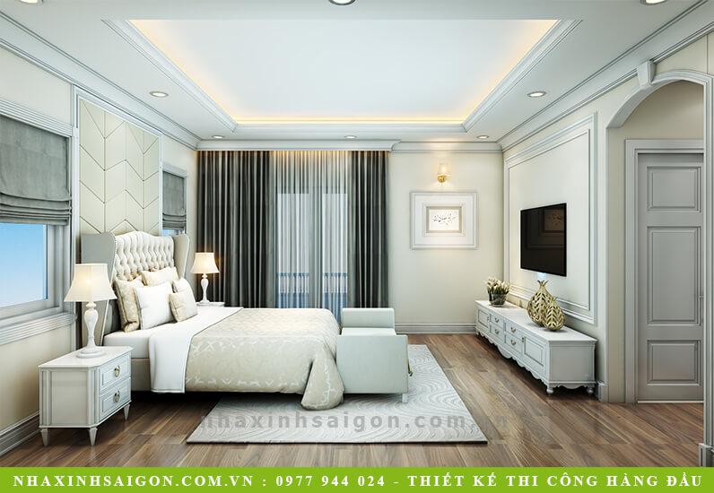 mẫu phòng ngủ cổ điển đẹp, nha xinh