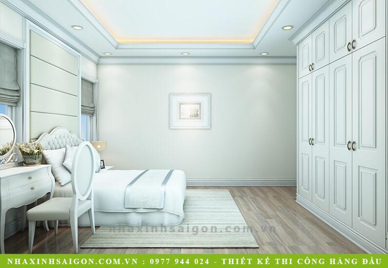 thiết kế phòng ngủ con gái cổ điển, nhà xinh