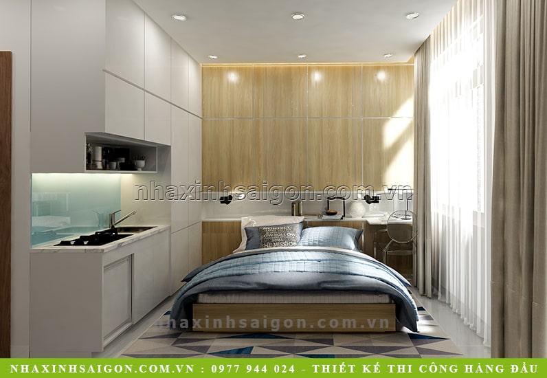 phòng ngủ cho thuê đẹp, nội thất nhà xinh