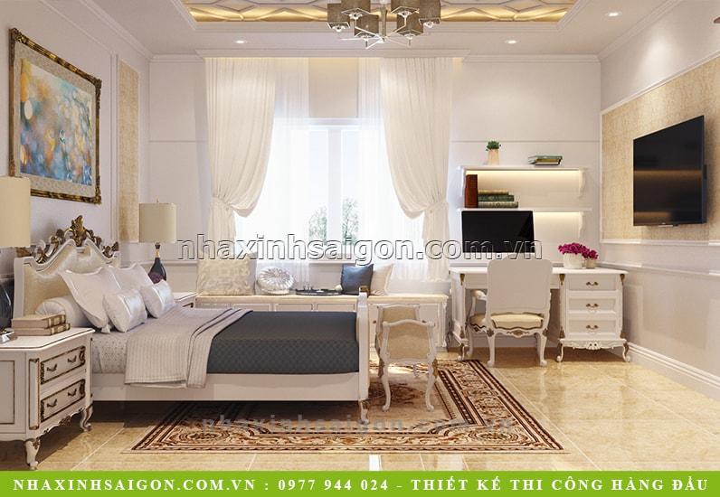 nội thất phòng ngủ con trai, thiết kế nội thất