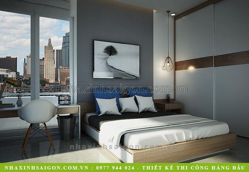 phòng ngủ con trai đẹp, thiết kế nội thất