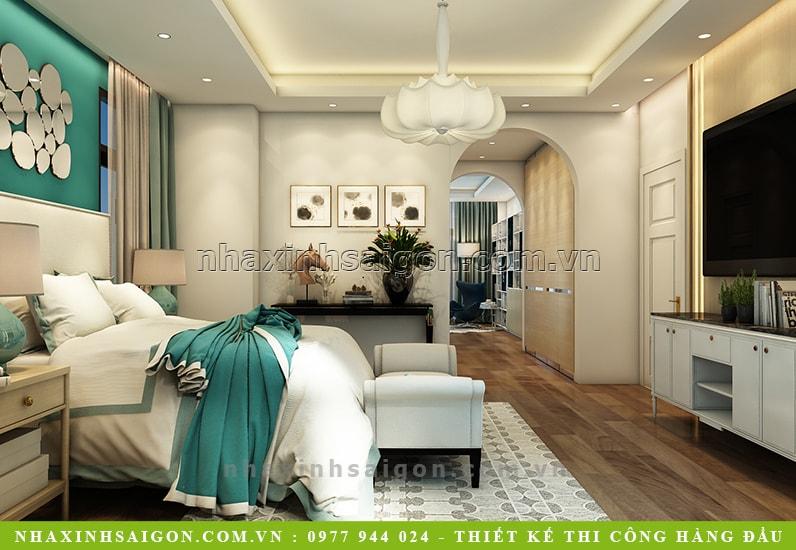 nội thất phòng ngủ con trai hiện đại