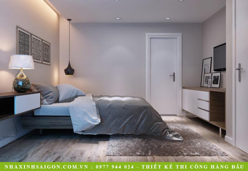 nội thất phòng ngủ hiện đại, biệt thự
