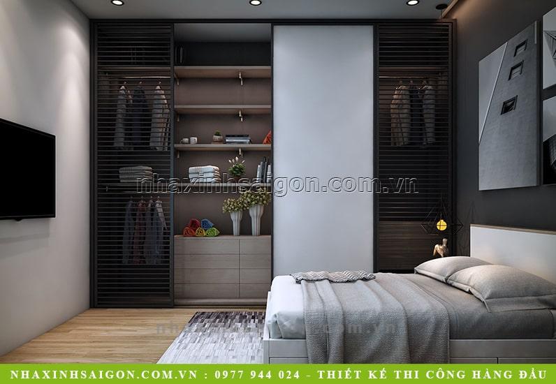 nội thất phòng ngủ hiện đại, thiết kế nội thất