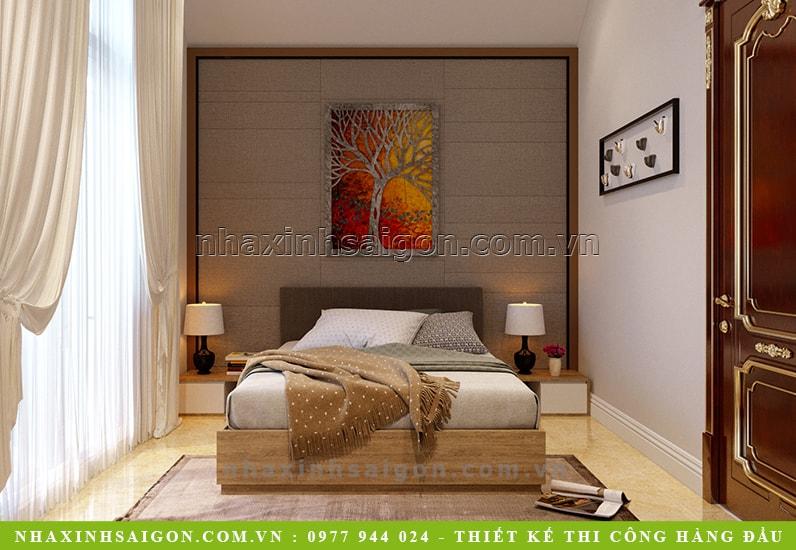phòng ngủ khách sang trọng, kiến trúc nhà đẹp