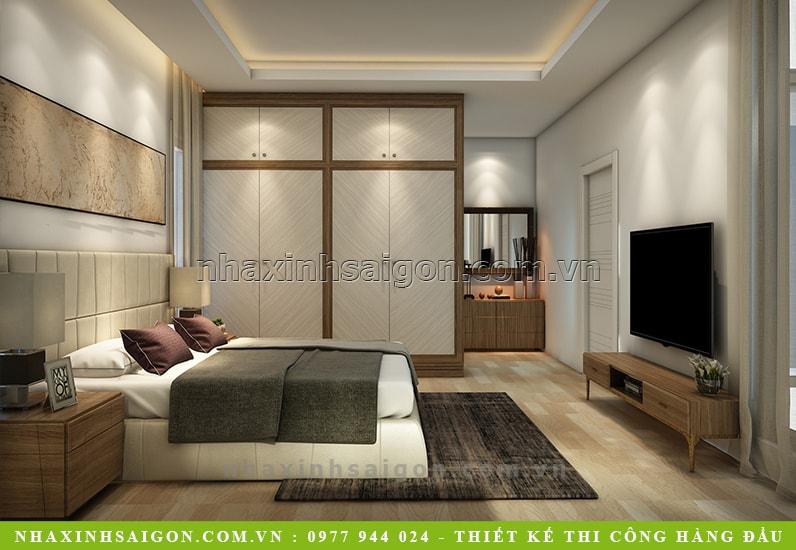 phòng ngủ nội thất gỗ đẹp