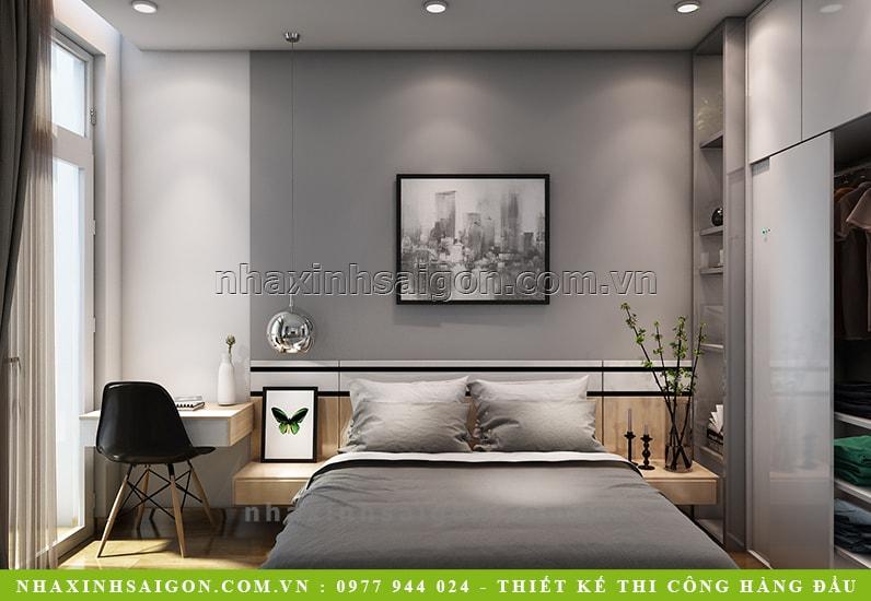thiết kế phòng ngủ, nội thất nhà xinh