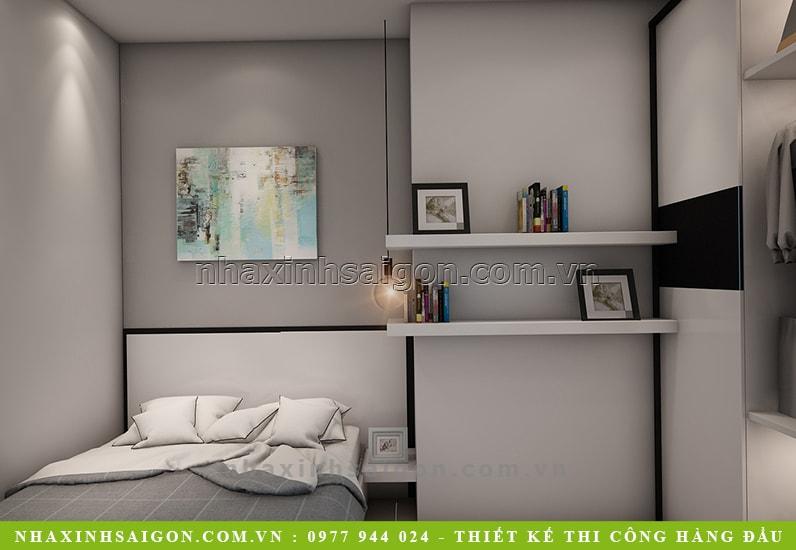 nội thất phòng ngủ đơn giản, nội thất nhà xinh