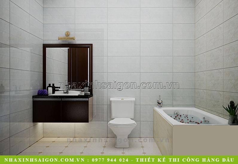 thiết kế phòng tắm hiện đại, mẫu nhà xinh