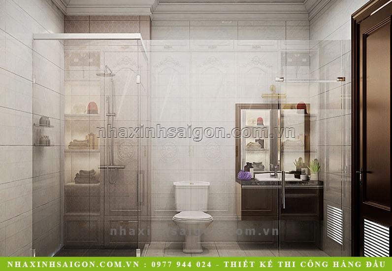 mẫu phòng tắm sang trọng, nội thất