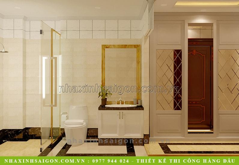 mẫu phòng vệ sinh đẹp, công ty nhà xinh