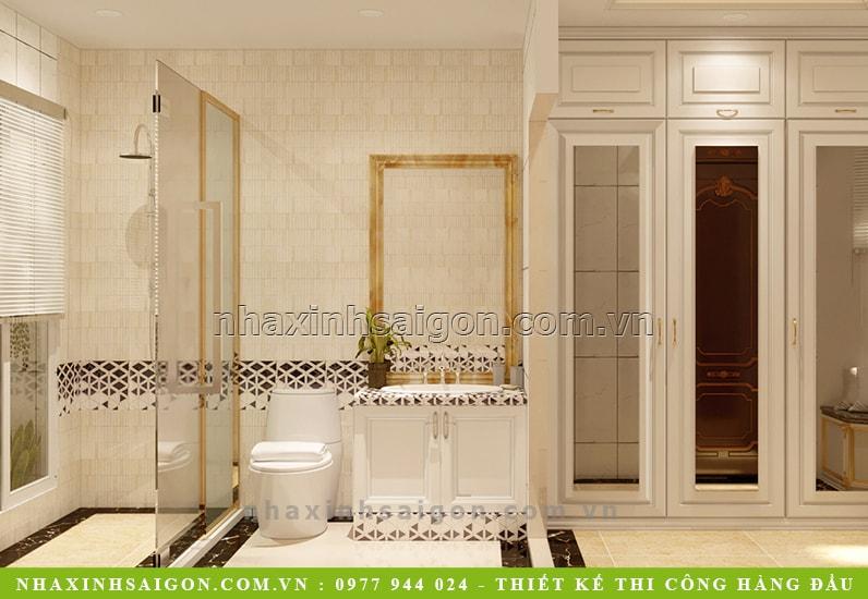 phòng vệ sinh master đẹp, nội thất