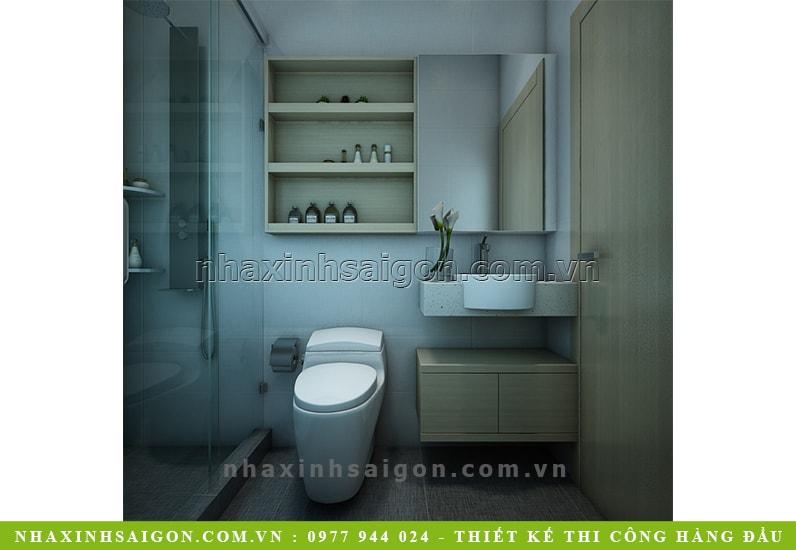 phòng vệ sinh gia đình, mẫu nội thất
