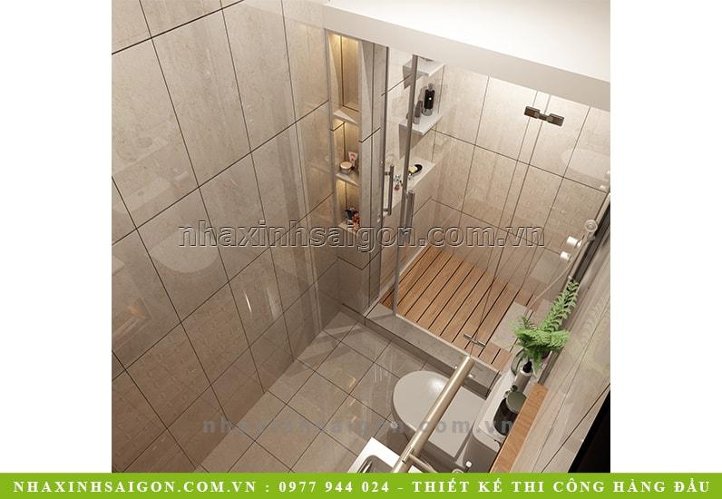 phòng vệ sinh master, nội thất vệ sinh