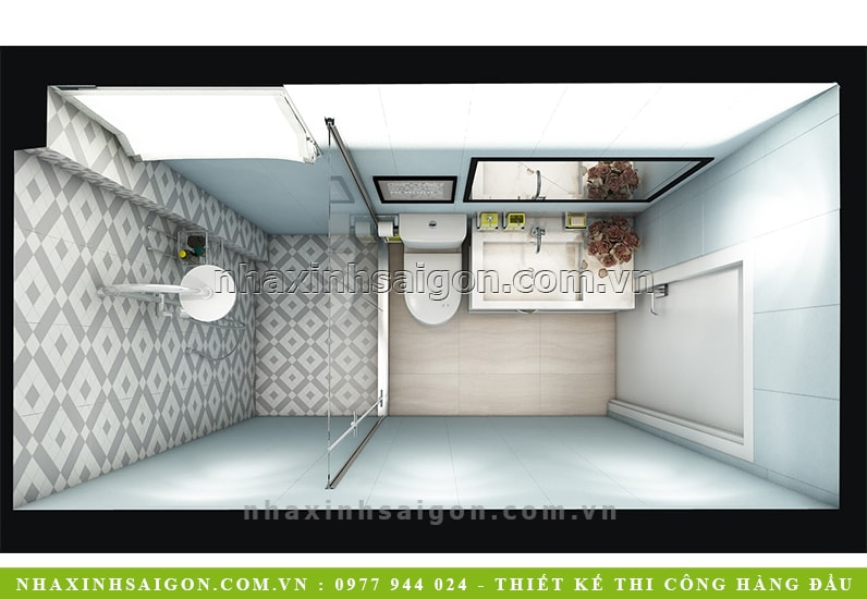 thiết kế phòng vệ sinh, nội thất đẹp