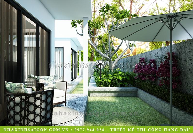sân vườn nhà đẹp, thiết kế nhà