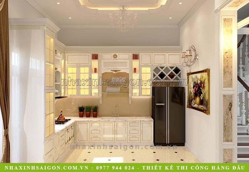 thiết kế bếp đẹp, nội thất