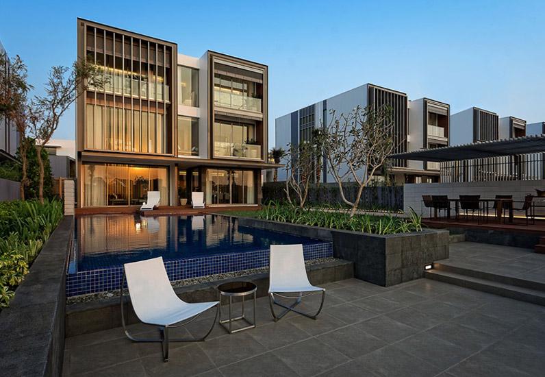 biệt thự có hồ bơi, thiết kế nhà đẹp