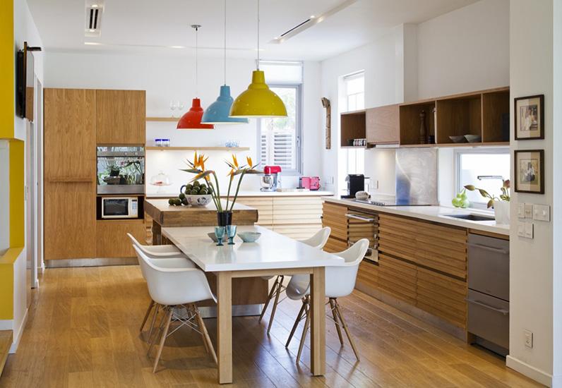 thiết kế nhà bếp ăn đẹp, biệt thự