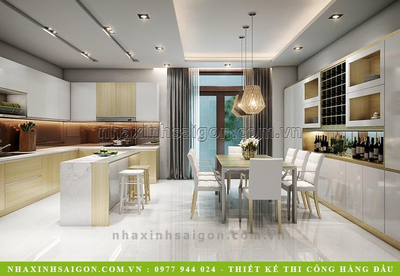 thiết kế nhà bếp đẹp, nội thất