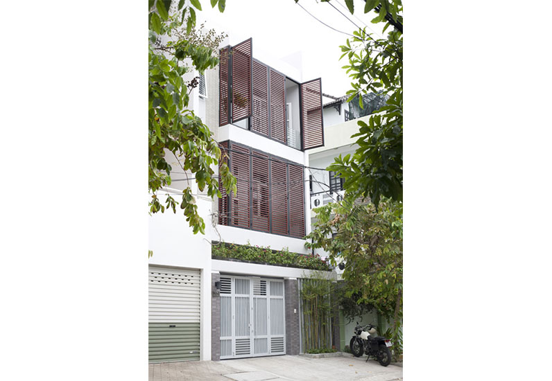 mẫu nhà phố hiện đại, nhà xinh