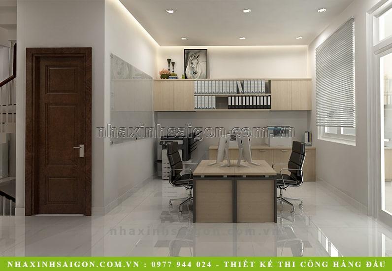thiết kế phòng làm việc, nội thất đẹp